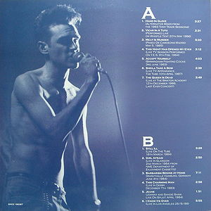 The Smiths Hang The Dj Thrice Lp Bootleg Morrissey